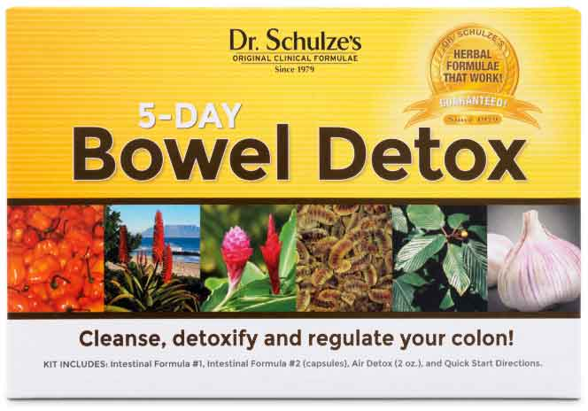 5-Day Bowel Detox, Save 10%