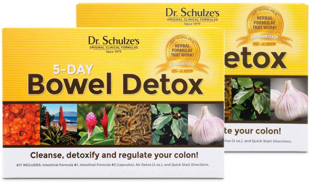 5-Day BOWEL Detox, Buy 2, Save 15%