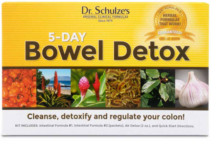 5-Day Bowel Detox, the best colon cleanse