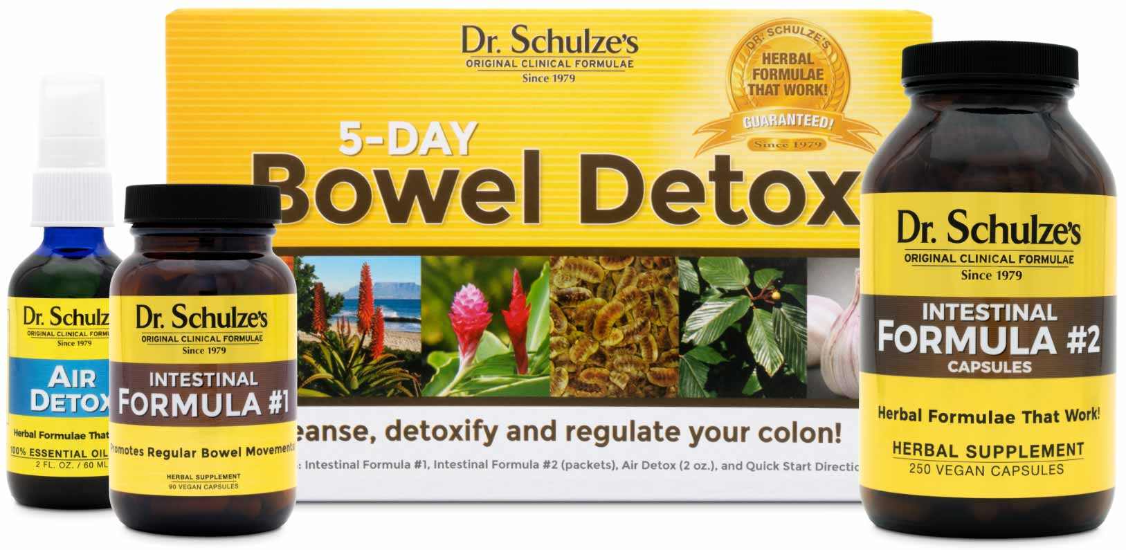 5-Day Bowel Detox, Capsules, Best Colon Cleanse