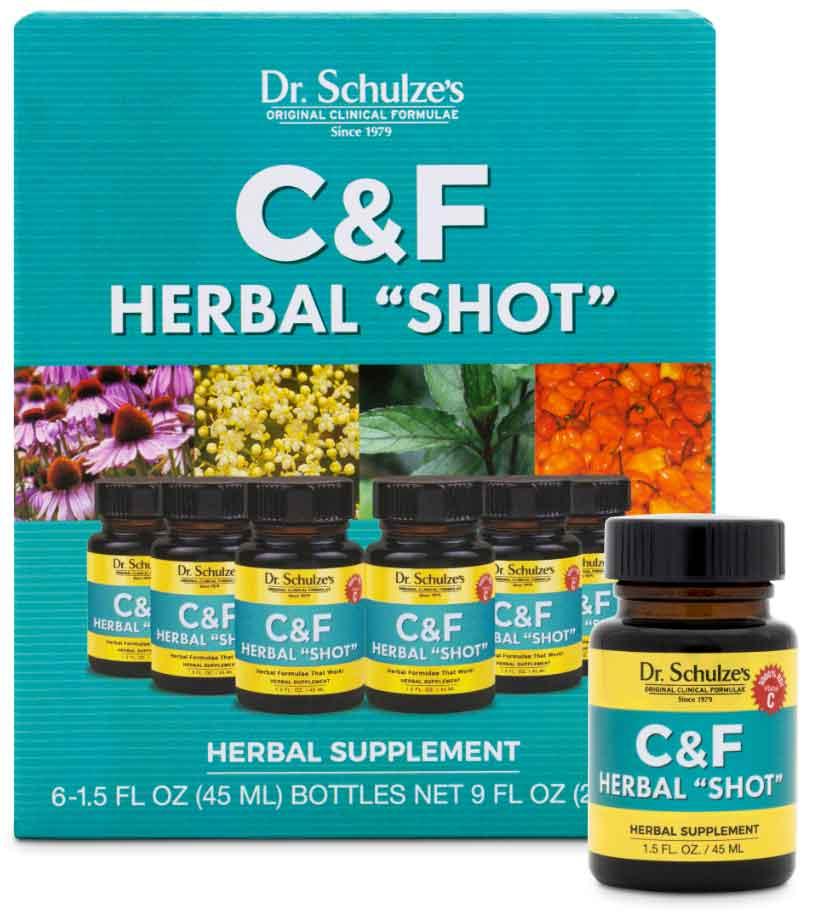 C&F Herbal Shot, Save 10%