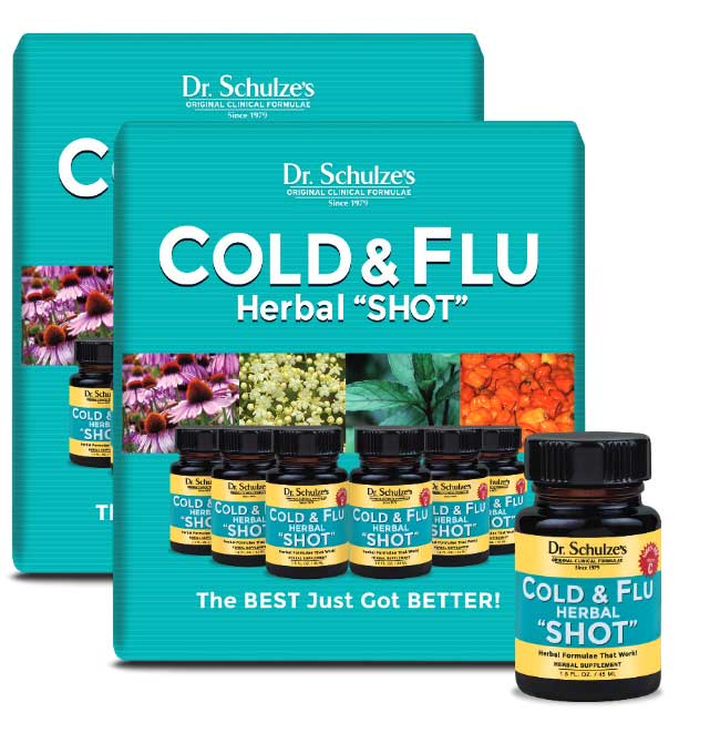 Cold and Flu Herbal Shot