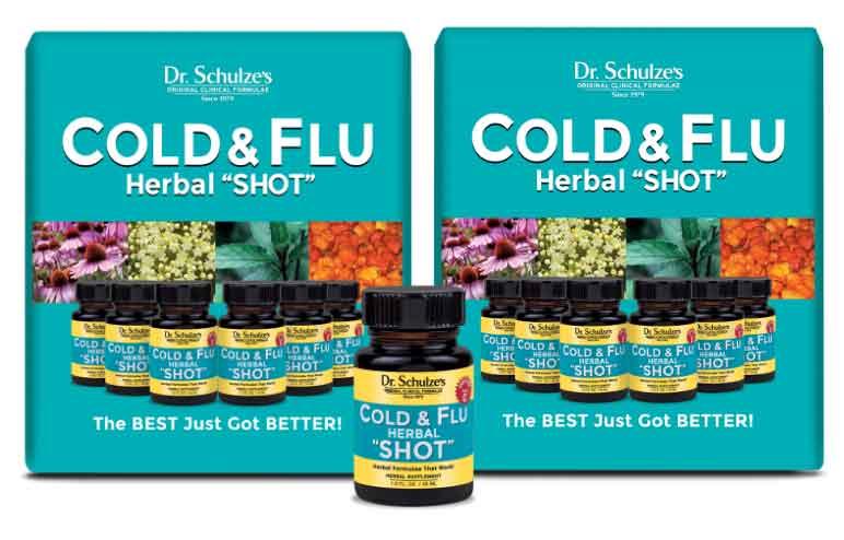 "Cold & Flu Herbal ""SHOT""  6-Pack Special"