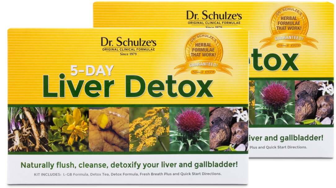 5-Day LIVER Detox, Buy 2, Save 15%
