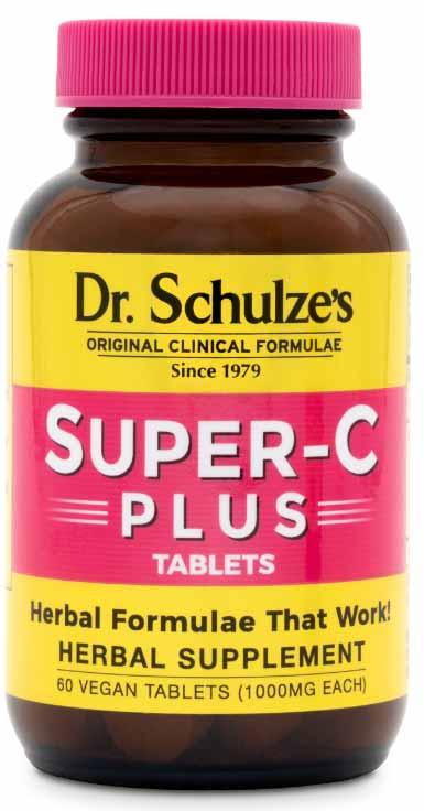 Super-C Plus Tablets 60 ct, Vitamin C Supplement