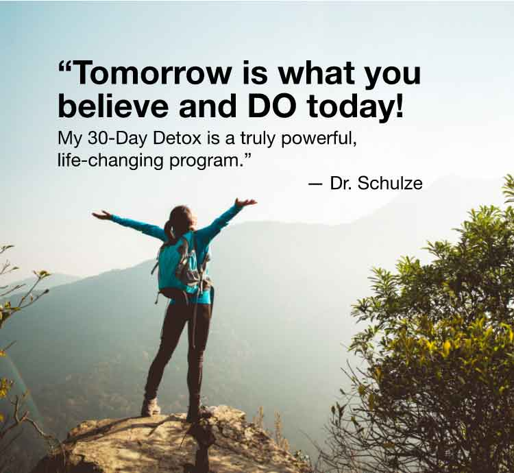 Tomorrow is what you believe and do today!