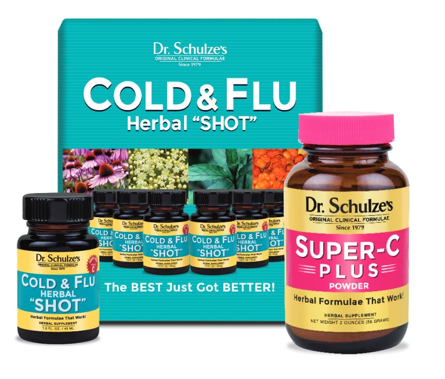 DR. SCHULZE'S COLD & FLU DEFENDER