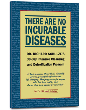 There are no incurable diseases, book cover