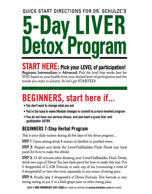 5-Day LIver Detox Program Guide
