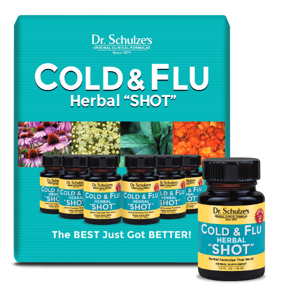 "COLD and FLU HERBAL ""SHOT"